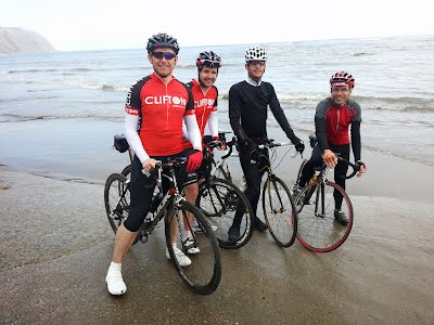 Sunday Club Run at the Seaside